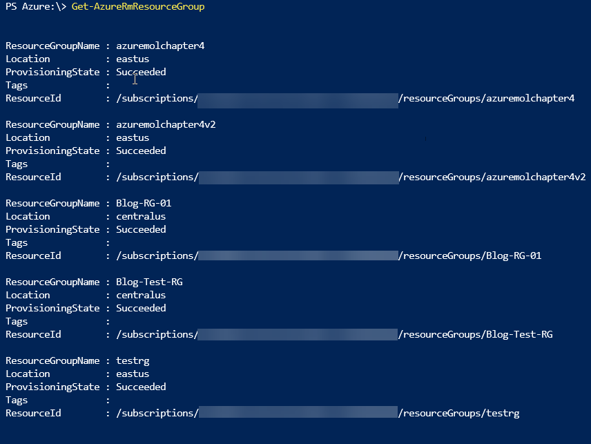 PowerShell Basics: Getting the right Azure Subscription in