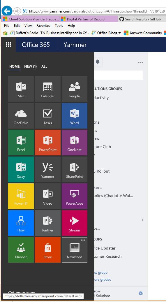 Buggy App Launcher - Microsoft Tech Community - 19136