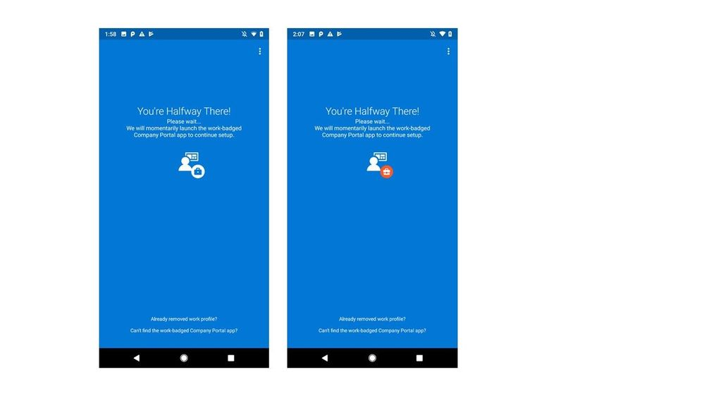 Support Tip: Intune Support for Android P - Microsoft Tech
