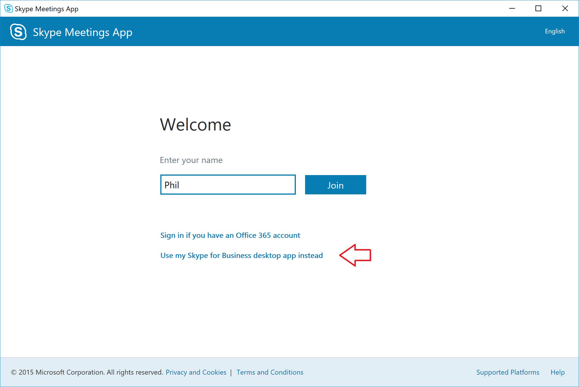 Skype Meetings App improvements on their way