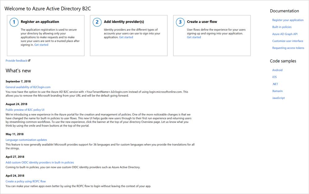 Using Azure Active Directory B2C just got easier