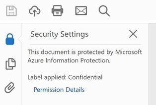 Using Azure Information Protection to protect PDF's and Adobe