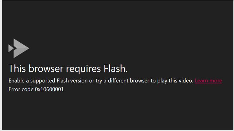 Stream Videos won't play on IE 11 - Microsoft Tech Community