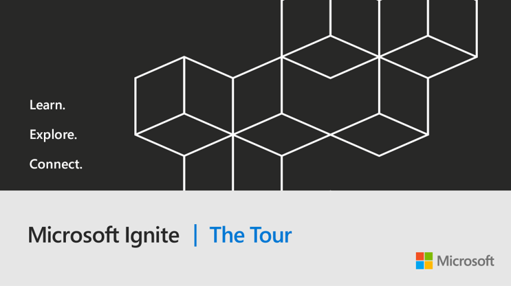 join us for deep technical training at microsoft ignite the tour
