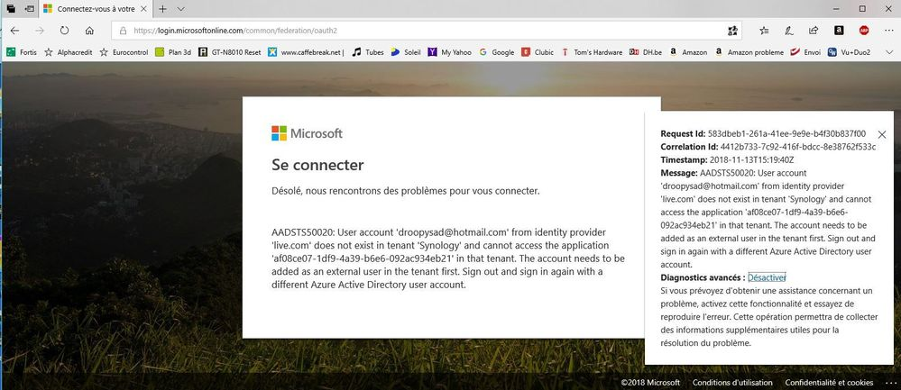 Screenshot erreur active backup office 365.JPG