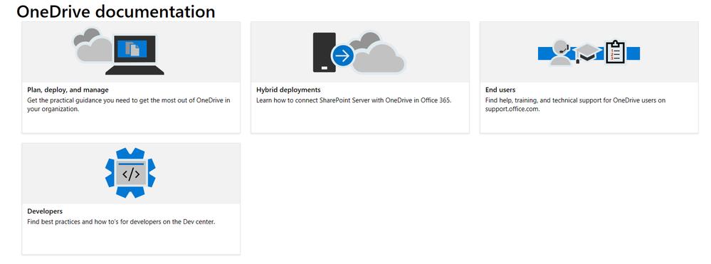 docs.com OneDrive home page