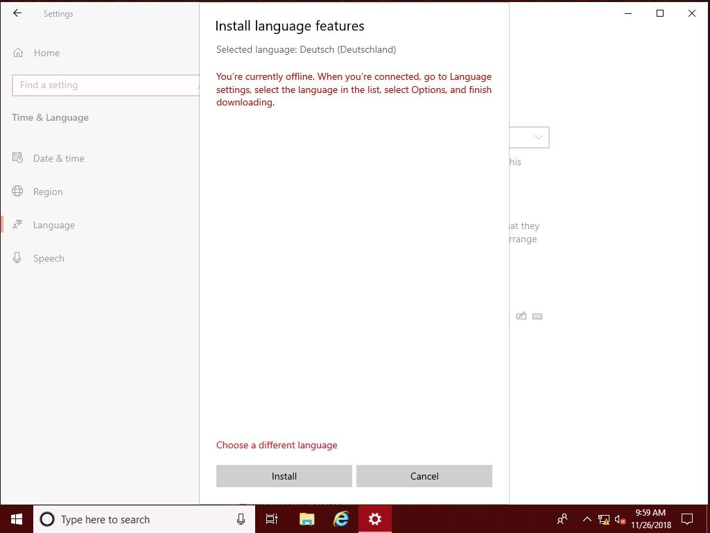 Adding Local Experience Packs to your Windows image