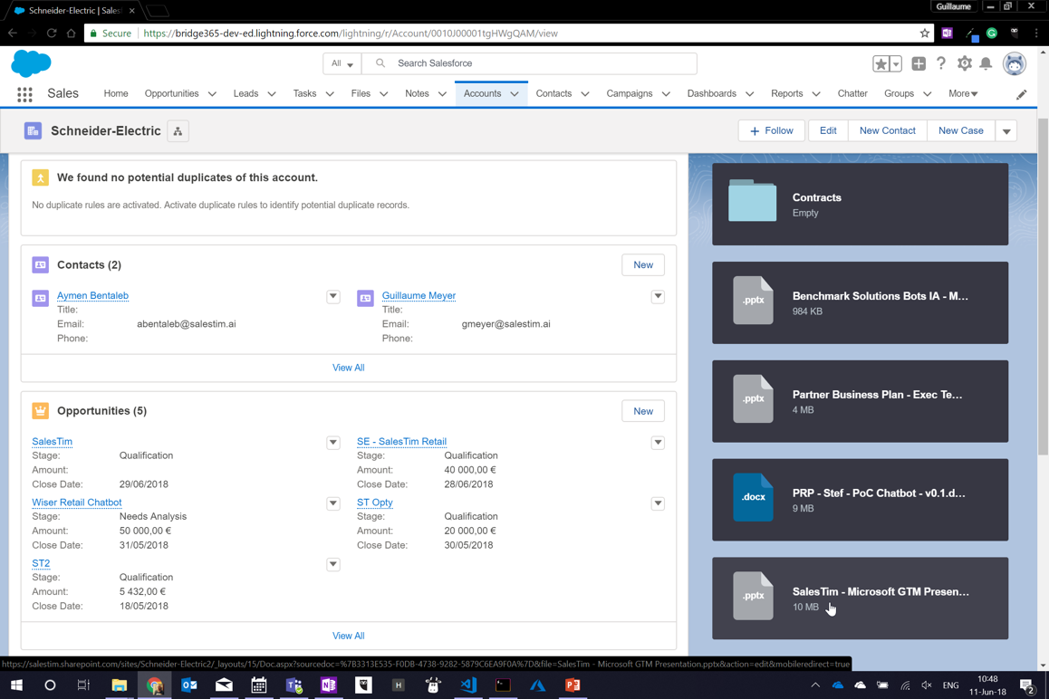 Salesforce Integration with Teams - Microsoft Tech Community