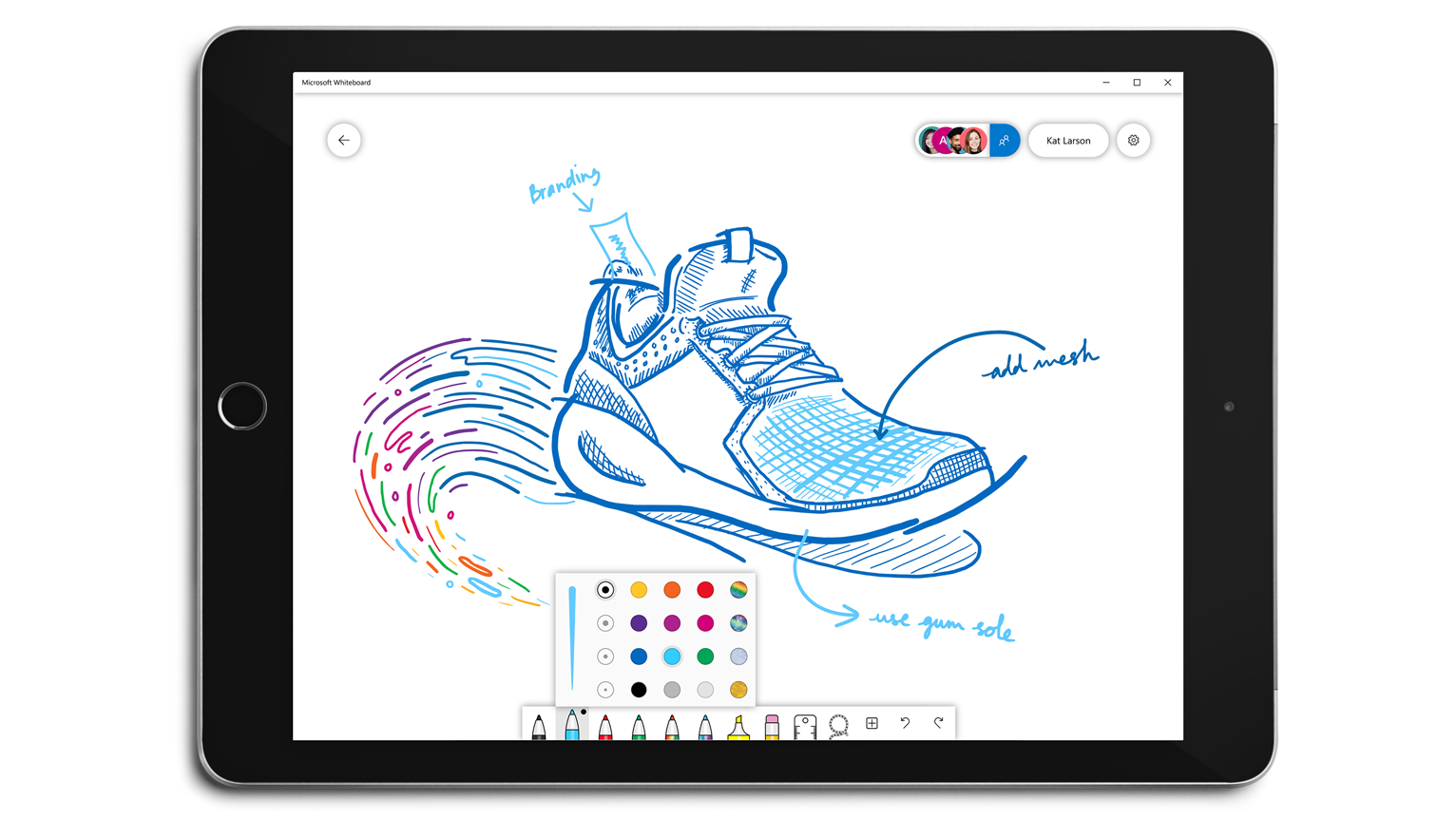 Microsoft Whiteboard: now more colorful and customizable ...