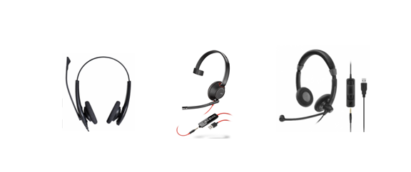 4843b5d089a There are a variety of wireless options that provide great sound quality  and nearly all-day battery life. Examples are the Jabra Evolve and Engaged  Series ...
