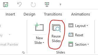"""ld laptop with """"reuse slides"""""""