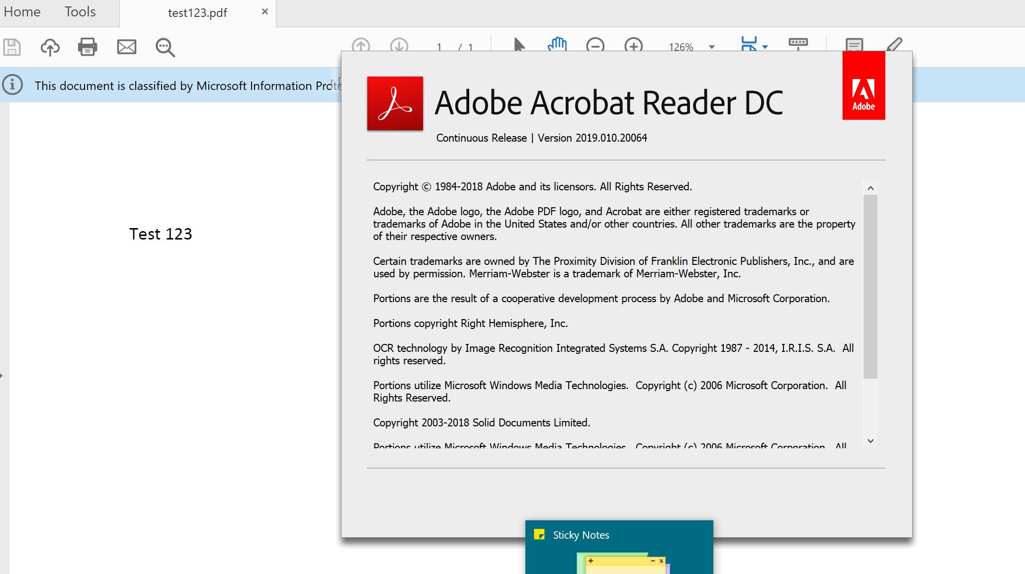 adobe reader acrord32.exe - application error