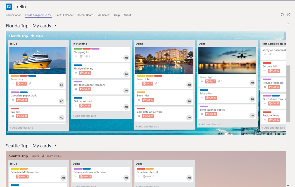 Stay on top of your tasks with Trello.