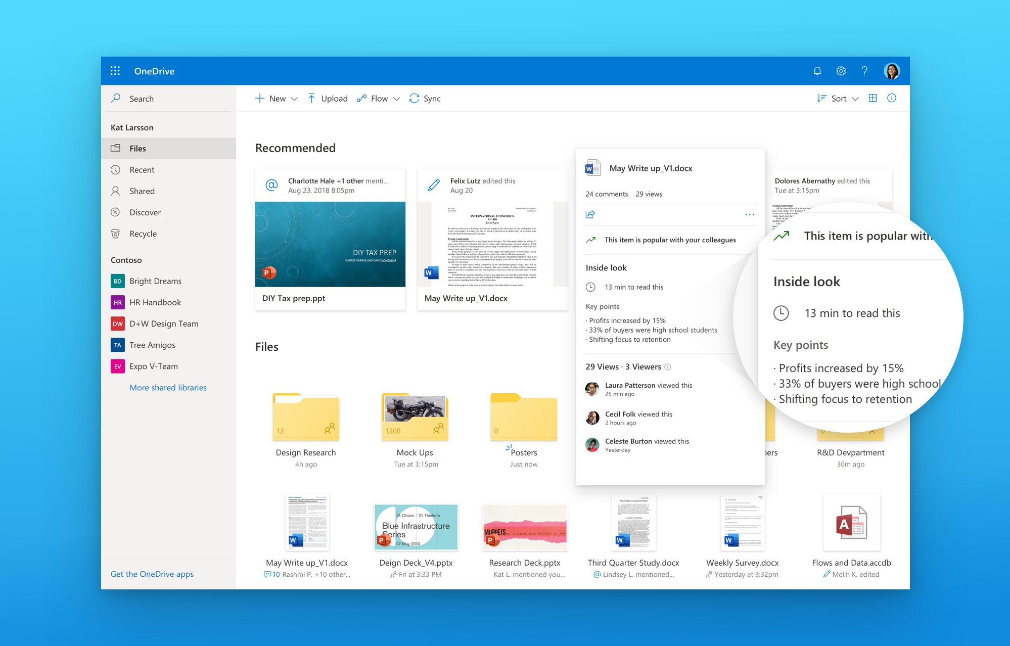 Designing a Fluent and Intelligent OneDrive - Microsoft Tech