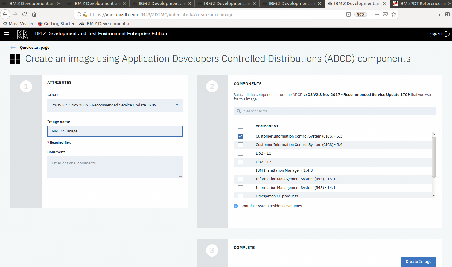 Set up an Application Developers Controlled Distribution