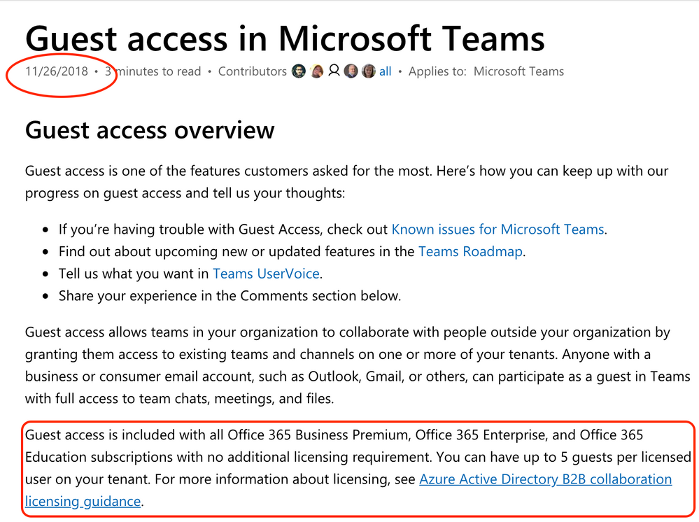 Could someone shed some light on the guest access Azure AD