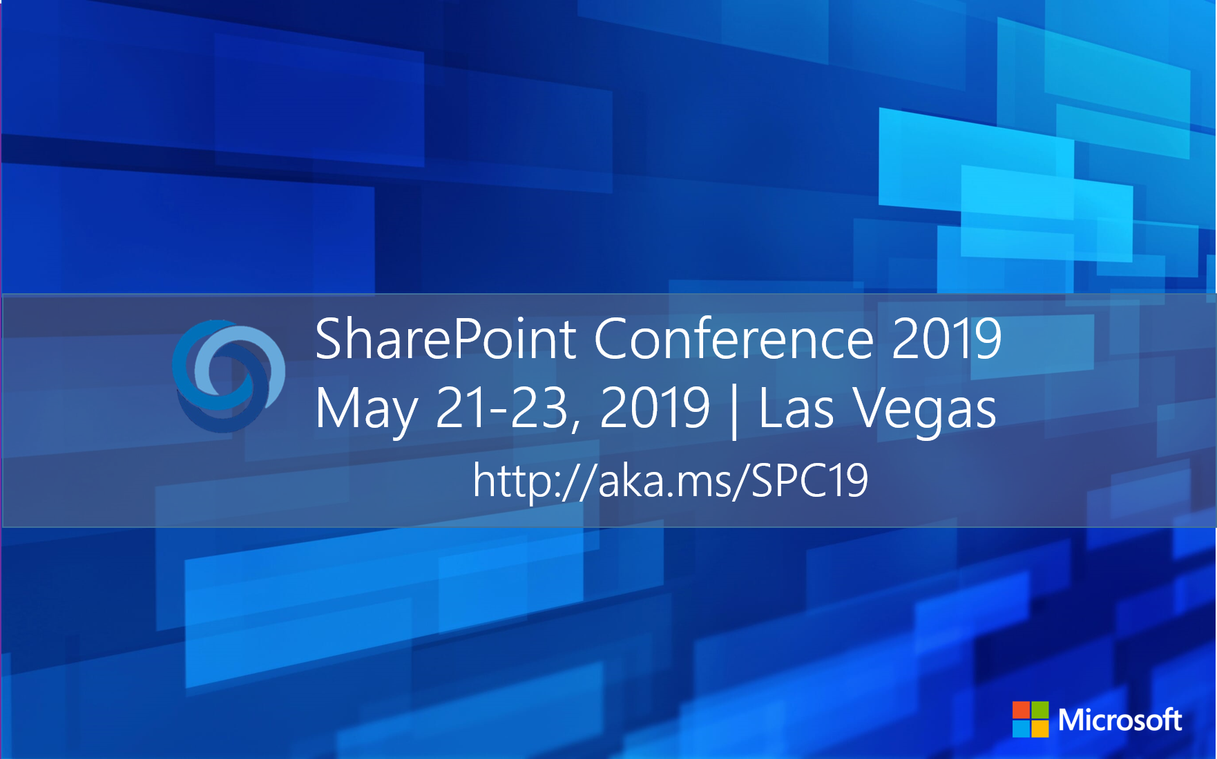 Join us at the SharePoint Conference – May 21-23, 2019 in Las Vegas