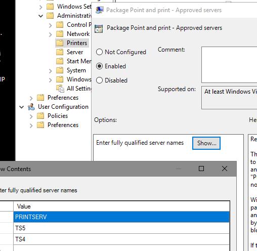 Printer Driver Error During Install - Microsoft Tech