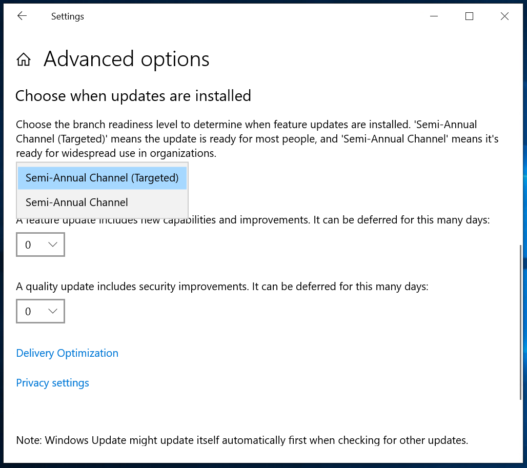 Windows Update for Business and the retirement of SAC-T