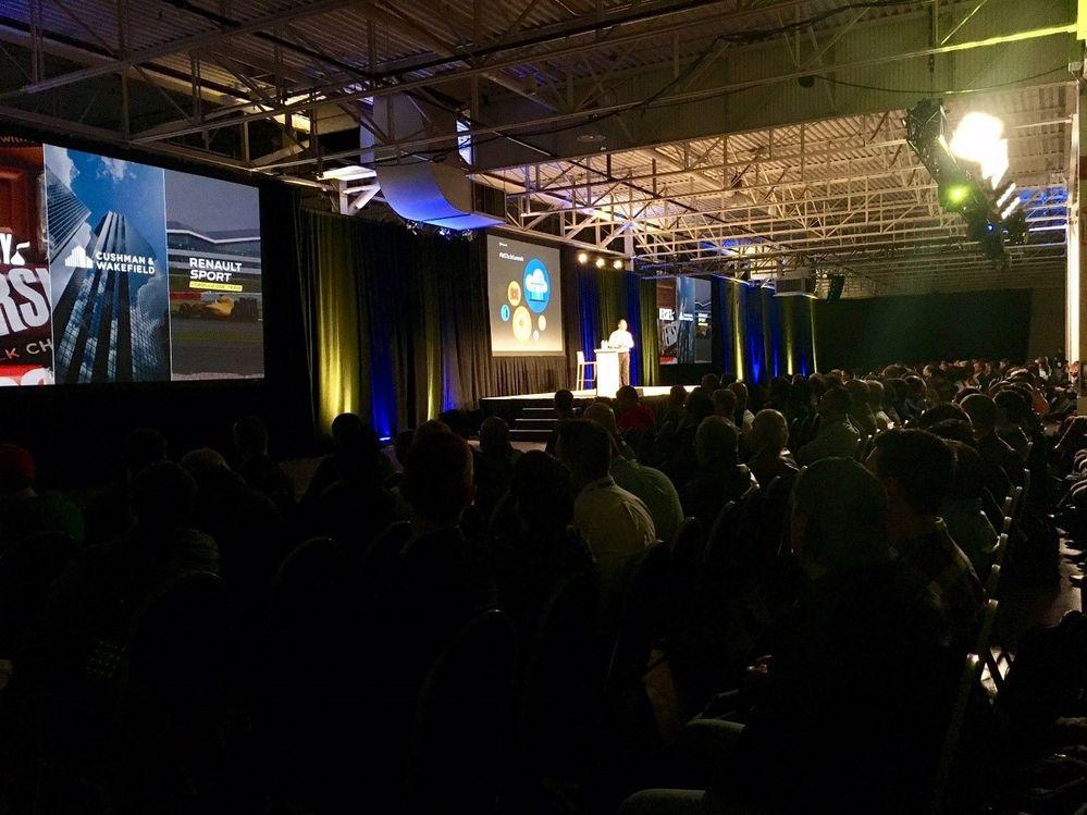 Takeshi Numoto, Corporate Vice President, Microsoft Cloud + Enterprise Marketing Groupas the Keynote Speaker for the Microsoft Tech Summit in Toronto.