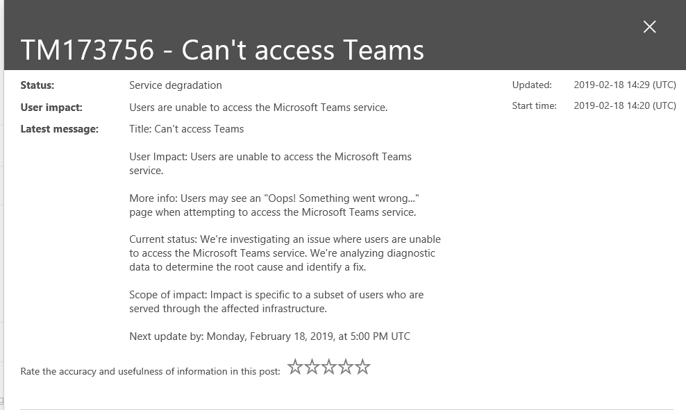 Teams Crashes on Startup - Microsoft Tech Community - 352515