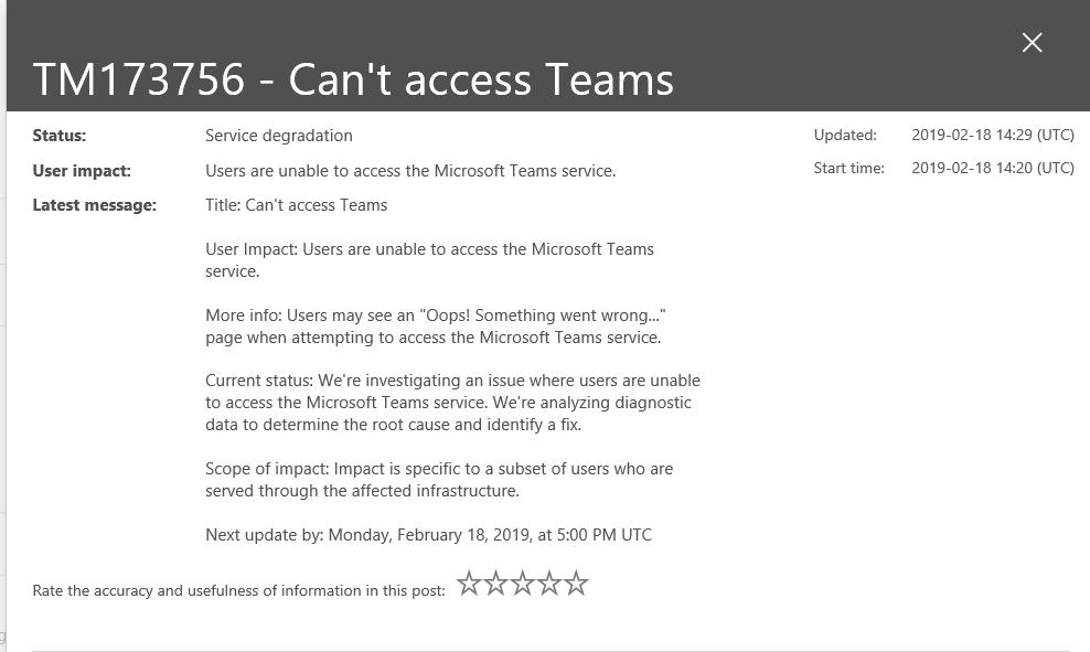 Teams Crashes on Startup - Microsoft Tech Community - 352515
