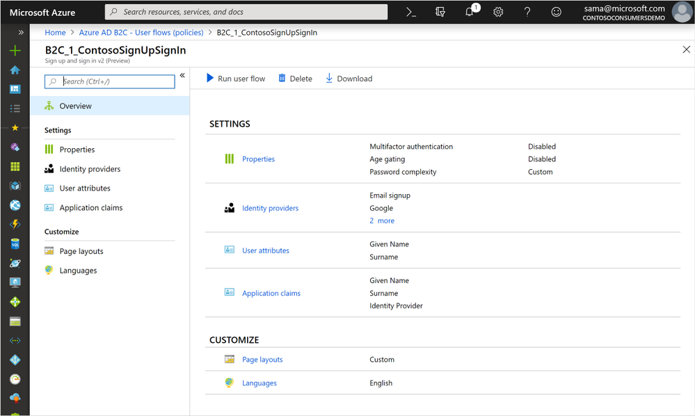 Azure AD B2C now has JavaScript customization and many more new features