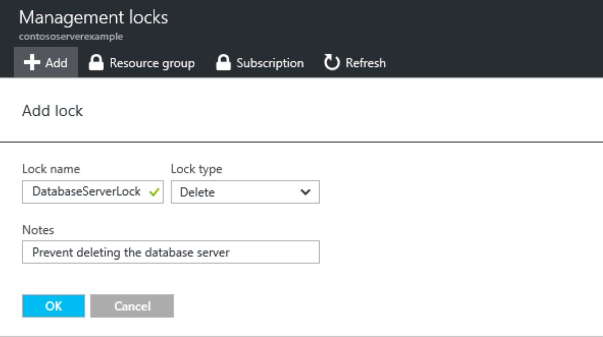 How to Lock Azure Resources to Prevent Modification or Deletion