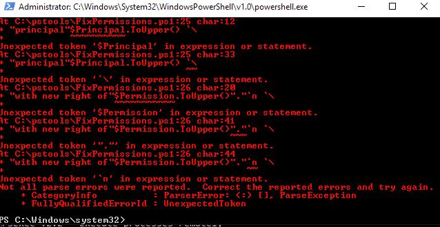 error code -1073741510