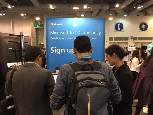 New members signing up to the Microsoft Tech Community.