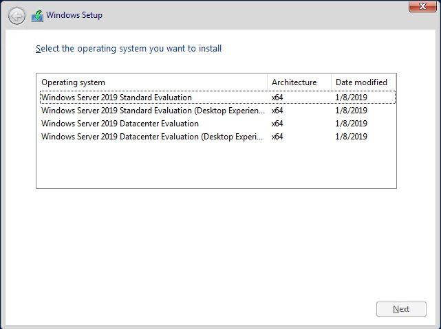 Where is Hyper-V Server 2019?! - Microsoft Tech Community - 307500