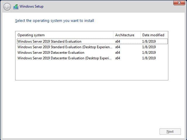 Where is Hyper-V Server 2019?! - Microsoft Tech Community - 307500