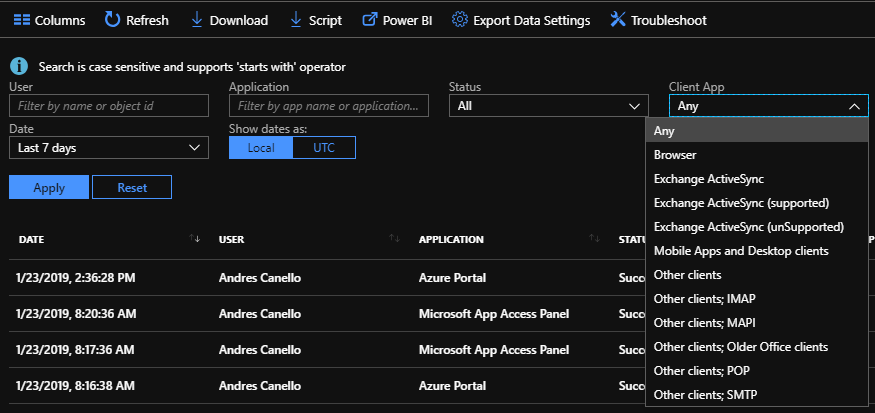 Azure AD Mailbag: Discovering and blocking legacy authentication