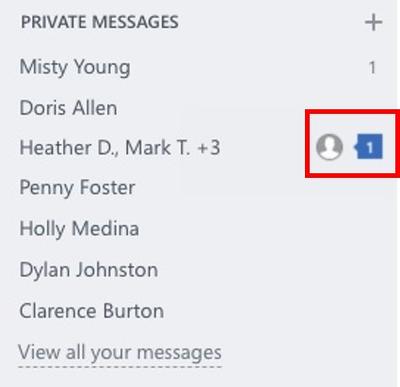 Less interruptive notifications