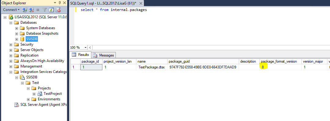 SSIS version number is not valid error - Microsoft Tech