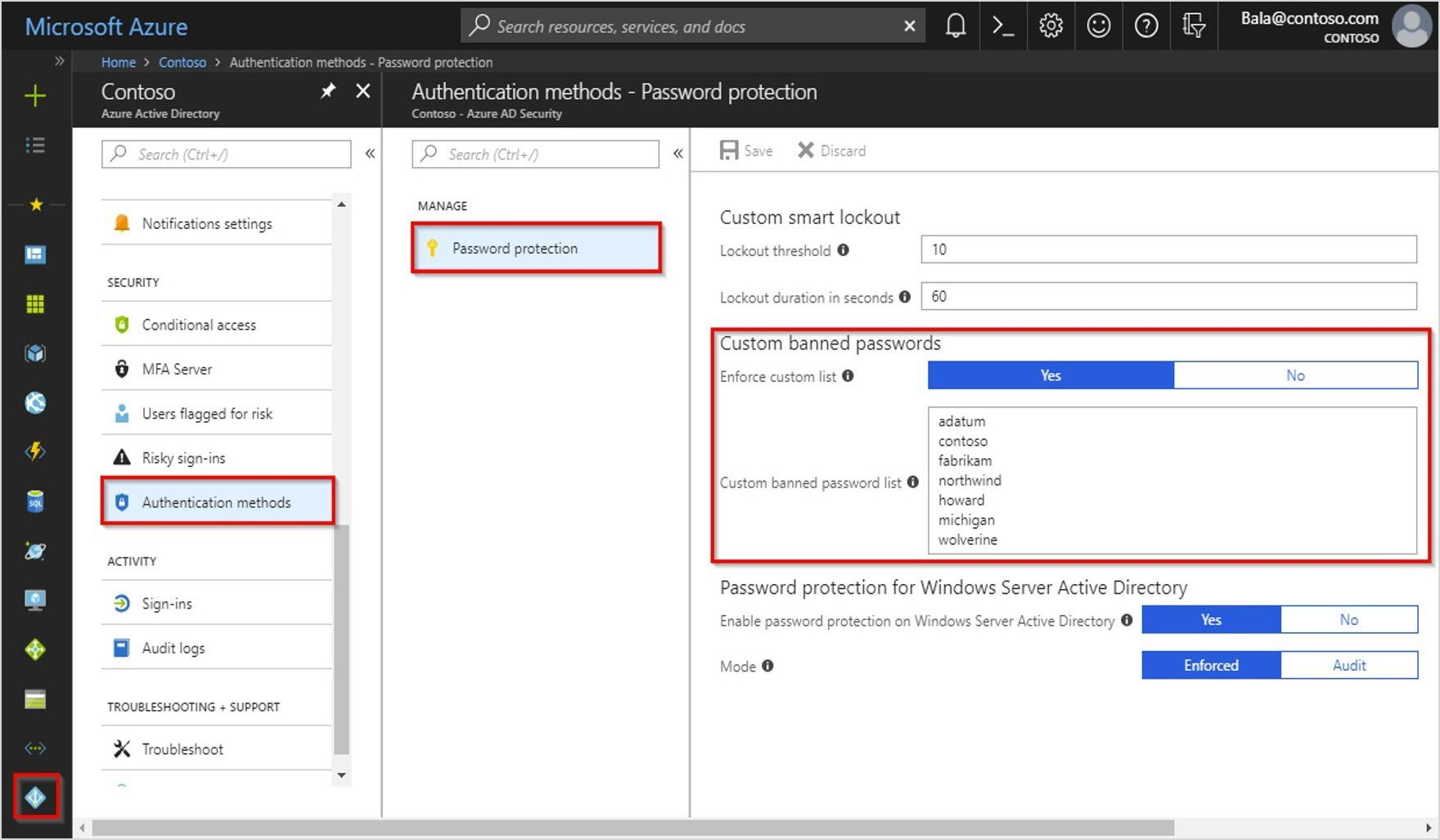 Azure AD Password Protection is now generally available
