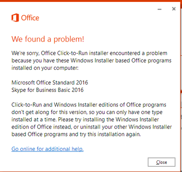 install visio 2016 msi with office 365