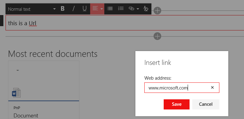 Inserting links - Microsoft Tech Community - 38927
